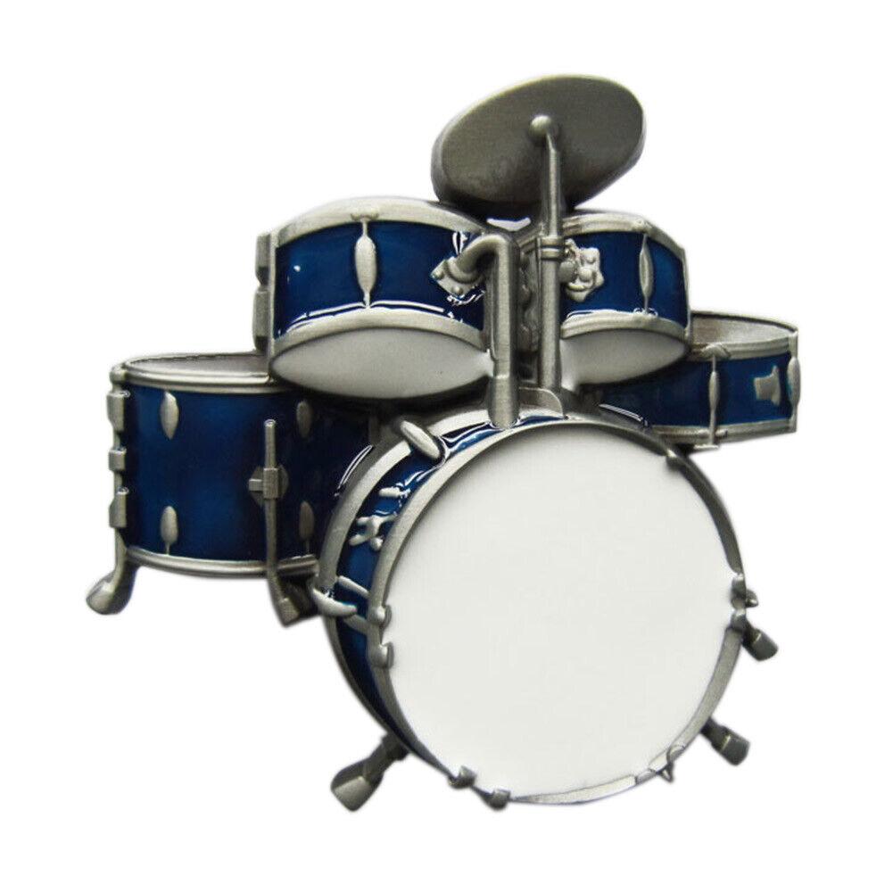 Drums I Gürtelschnalle Drummer Drum Kit Music Teacher Schlagzeug Schlagzeuger