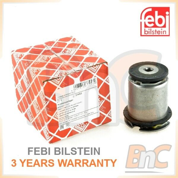 pack of one febi bilstein 37453 Axle Beam Mount for rear axle support