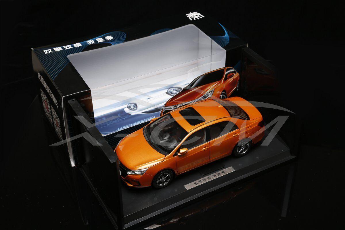 Diecast Car Model BYD Qin 1 18 (orange) + GIFT