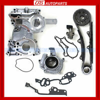 78-82 Toyota 2.2l 2.4l Double Row Timing Chain Cover Oil Pump Kit 20r, 22r on sale