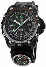 New Luminox Recon NAV SPC Compass Black Rubber Men's Watch 8831.KM