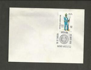 ARGENTINA-1976-Army-Day-FIRST-DAY-COVER
