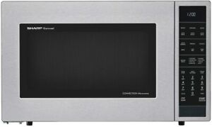 Sharp Carousel 1.5 Cu. Ft 900W Microwave Oven - Free Shipping - SMC1585BS