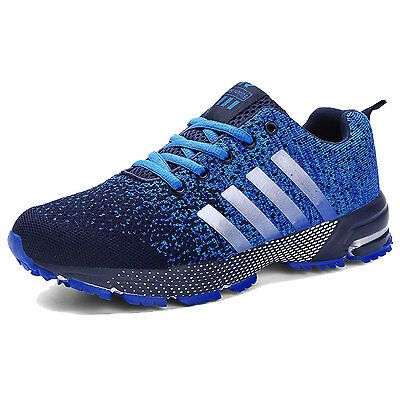 New Men's Fashion Sneakers Casual Sports Athletic Running Breathable Shoes