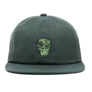 Vans x MARVEL - THE HULK Jockey Hat (NEW) Adjustable Strapback Cap ... 6c86eb6395d