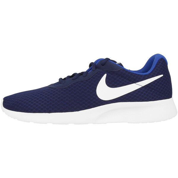 Nike tanjun Chaussures Sneaker Chaussures De Course Navy blanc 812654-414 Roshe One courir Free-