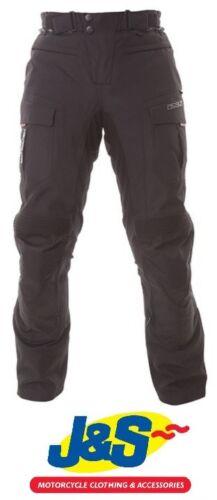 IXS Navigator Motorcycle Textile Trousers Motorbike Waterproof Pants Black J&S