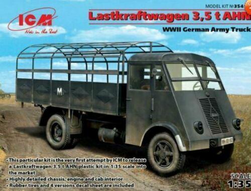 ICM 1:3 5 Maquette Kit Lastkraftwagen 3,5 T Ahn, WWII Armée Camion ICM35416
