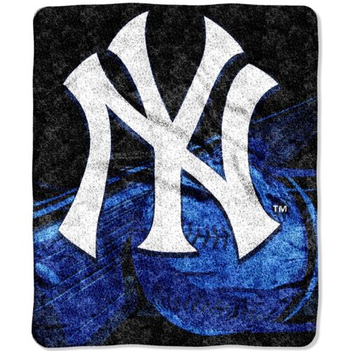 Basketball Yankees Decke Kuschel MBL Picknickdecke Super Soft Baseball New York 127 x 152