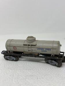 LIONEL-TRAIN-LINES-POSTWAR-GULF-OIL-GAS-SINGLE-DOME-TANK-CAR-6025-F4-2