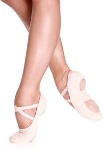 So-Danca-SD16-Talla-2L-B-EU-34-34-5-Mujer-Doble-Suela-Ballet-Pantufla-Rosa-Claro