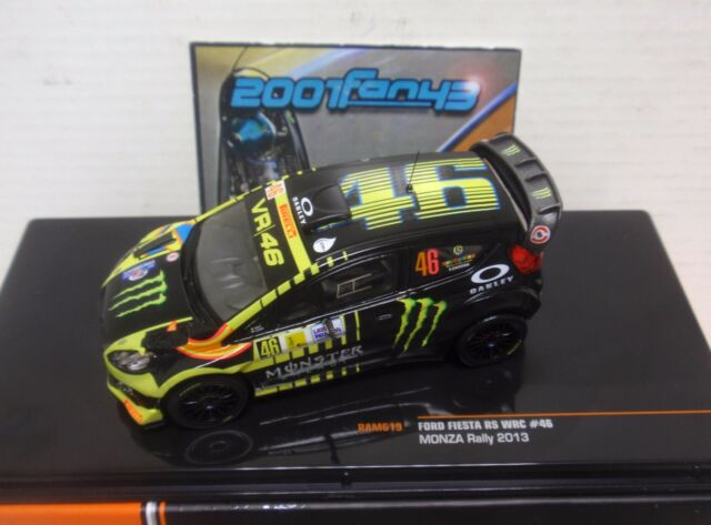 FORD FIESTA RS WRC #46 ROSSI RALLY MONZA 2013 1/43 IXO RAM619