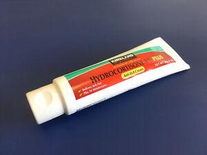 Details about 1 tube 2oz Kirkland 1% Hydrocortisone Anti itch Eczema Rash  Cortizone cream