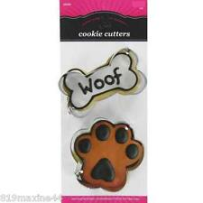 Bone & Paw Metal Cookie Cutter Set make your own dog treats gift idea