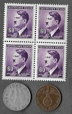 Rare Old Collectible WWII WW2 Nazi Germany Coin Stamp Hitler Collection War Lot