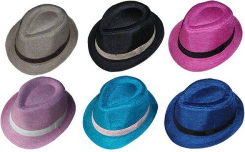 CHILD FEDORA HAT~*~FASHION DRESS UP BOY/& GIRLS