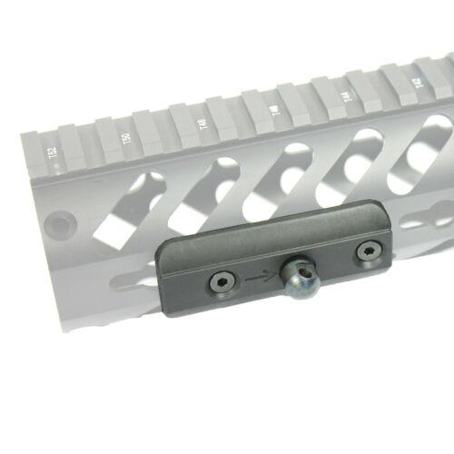 KEYMOD Sling Swivel Stud Bipod Adapter Low Profile Fits Harris Style Bipods BLK