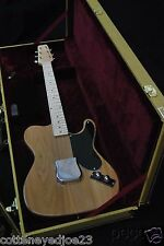 CUSTOM '49 ESQUIRE PROTOTYPE TELE SNAKEHEAD STYLE ELECTRIC GUITAR & TWEED CASE