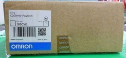 1PC Brand New in box Omron C200HW-PA204R Power Supply Module #RS19