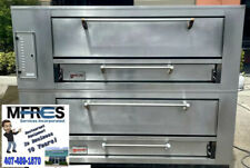 Marsal Double Gas Pizza Oven Model 1060 Beautiful