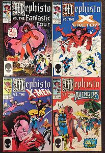 50eb131faf Mephisto Vs. 1 2 3 4 Fantastic Four X-Men Avengers X-Factor Marvel ...