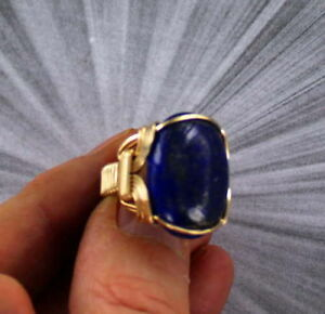 Large-Lapis-Lazuli-Gemstone-Ring-in-14kt-Rolled-Gold-Wire-Wrapped