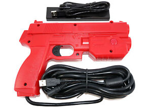 Details about Red Ultimarc AimTrak Arcade RECOIL Light Gun for  MAME,Win,PS2,PS3