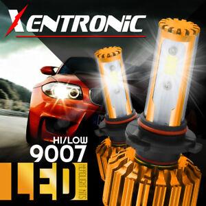 AUTOVIZION LED Headlight kit 9007 HB5 White for 1999-2004 Ford F-550 Super Duty
