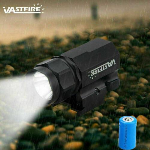 Combo Gun Flashlight Red Laser Dot Sight Strobe For 20mm Picatinny Rail