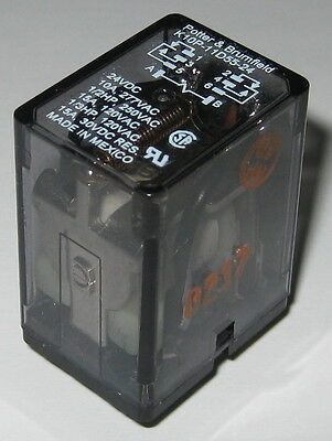 120V AC 277VAC 10A 15 A Double Pole Double Throw Miniature DPDT P/&B Relay