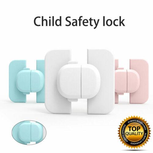 Kindersicherung Schubladensicherung Baby Kinder Schrankschloss Schutz 12 PACK DE
