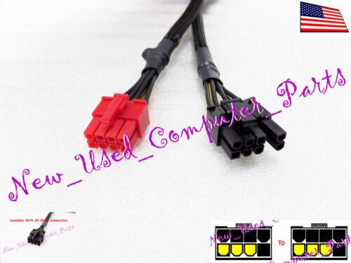 "Pin GPU Power Solution ➨➨ 6+2 ➨➨➨ 18/"" Thermaltake Power Supply 8-Pin to"