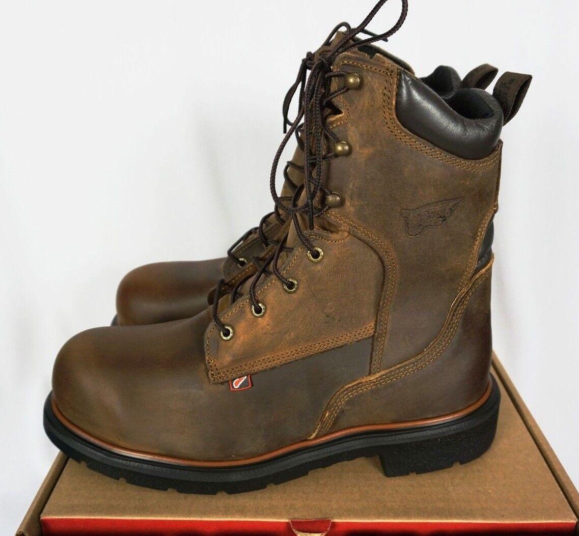 rojo Wing Dynaforce   EH Puntera De Acero Trabajo botas Sz 11.5 E2-Nuevo En Caja Usa