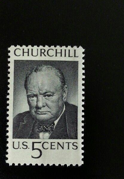 1965 5c Sir Winston Leonard Spencer-Churchill, British