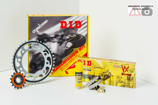 KIT DU TRASMISSION DID PROFESSIONAL TRIUMPH 600 Baby Speed (Italy) 06