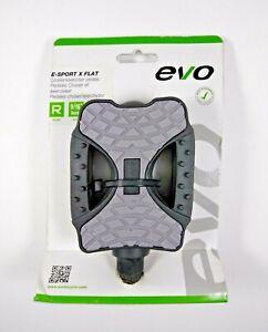 "EVO E-Sport X Flat 9/16"" Cruiser / Exerciser Pedals"