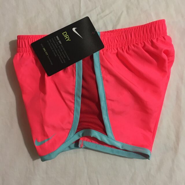 c728142a33 Nike Girl's Toddler Dri Fit Running Tempo Shorts Size 2t Hot Punch ...