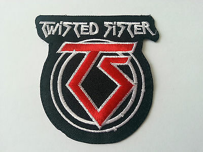 HEAVY METAL PUNK ROCK MUSIC SEW / IRON ON PATCH:- TWISTED SISTER (a)