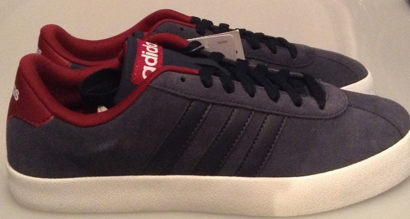 ADIDAS COURT COURT ADIDAS VULC TRAINERS - BB9635 - NAVY-BURGUNDY - MEN'S SIZES UK 6.5 TO 11 31ee55