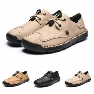 mens casual loafers lazy driving soft shoes faux leather