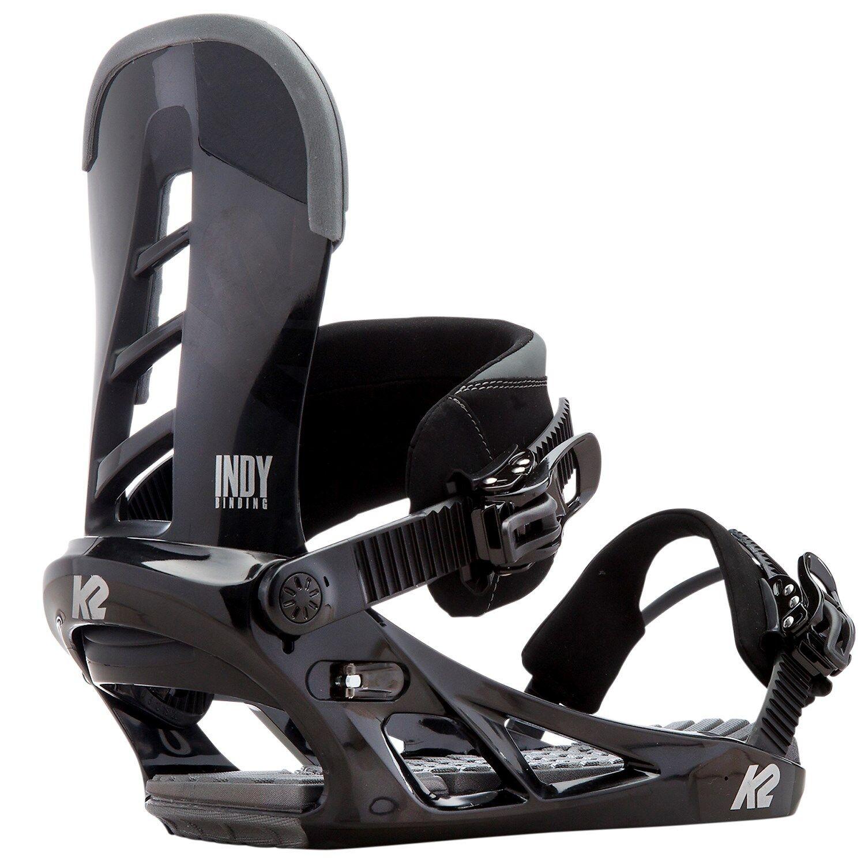 K2 Snowboard Bindung, Snowboardbindung INDY Gr  L   40,5 bis 44,5  schwarz 2016 17