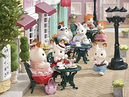 Doll not included Epoch Calico Critters TS-07 Town Series Suites Tea Time Set