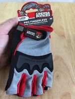Grease Monkey Pro Fingerless Large Glove High Performance