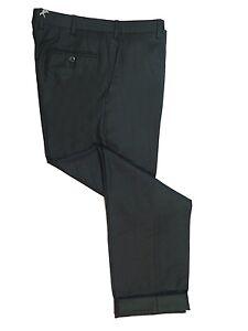 Brioni Ortisei Charcoal Gray Wool Dress Pants 46
