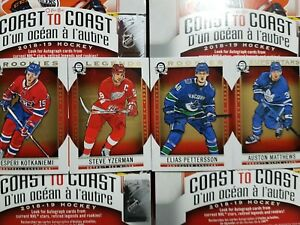2018-19-O-Pee-Chee-Coast-to-Coast-101-210-SP-RC-Legends-YOU-PICK-FROM-LIST