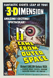 1950's Sci-Fi * IT Came from Outer Space * Movie Poster ...