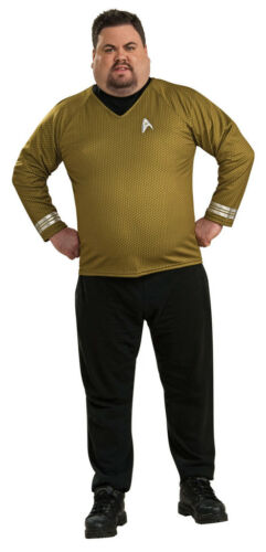 Star Trek Movie Captain Kirk Gold Deluxe Adult Costume