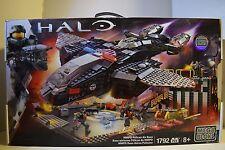 Halo Mega Bloks NMPD Pelican Air Base 1792 New