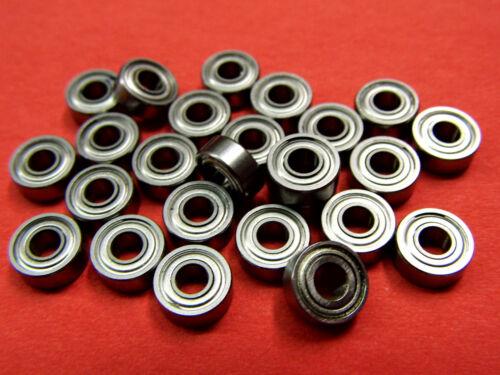 3 x 8 x 4  mm 1 Stück Kugellager 693 2Z Miniaturkugellager ZZ Dichtung