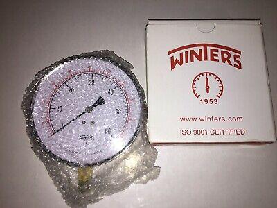 """Winters Instruments Pg-45-0-60-4l 0-60 Psig 4.5"""" 1/4"""" Npt Pressure Gauge Air Pressure Gauges Business & Industrial"""